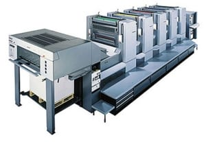 Lithographic Printer
